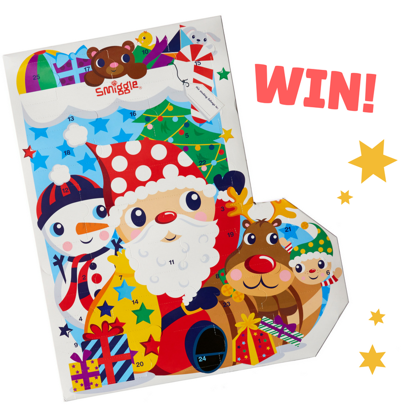 Smiggle Advent Calendar WINNER! - JW Mag